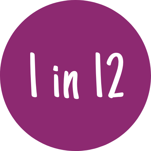 Icon showing 1 in 12
